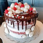Decadent Red Velvet Cake with Ganache Drip