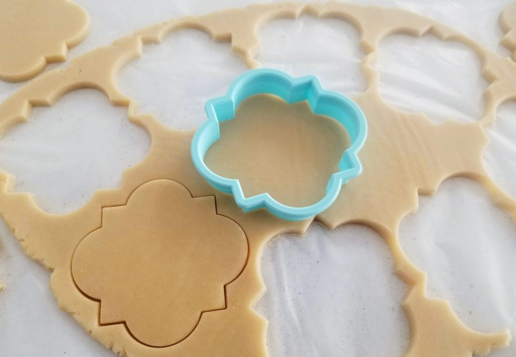 Cutting Shapes from Soft No-Spread Sugar Cookie Dough