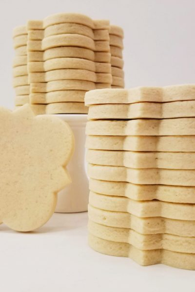 Stacked Soft No-Spread Sugar Cookies