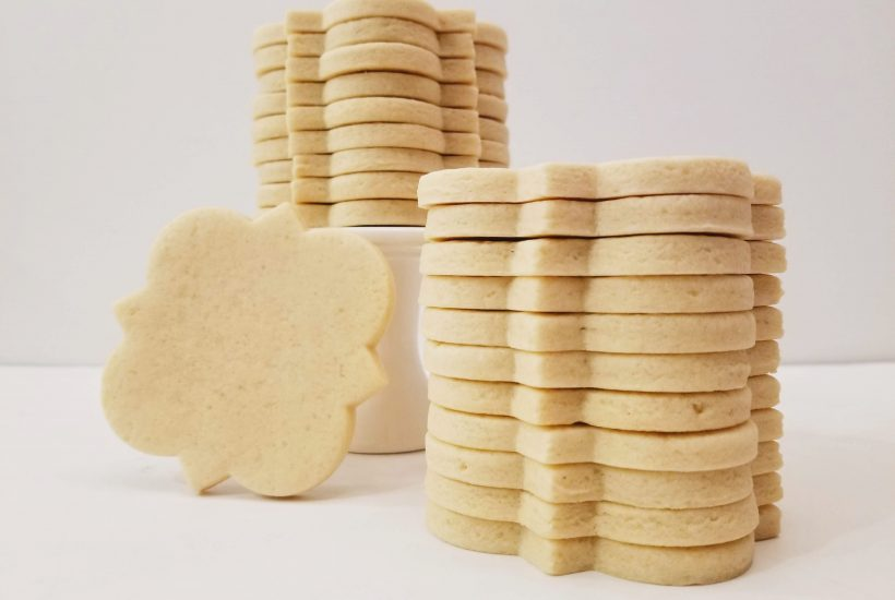 Stacked Soft No-Spread Sugar Cookies
