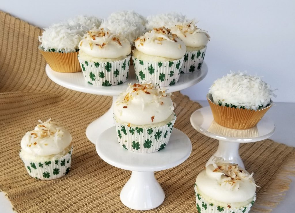 The Best Coconut Cupcakes