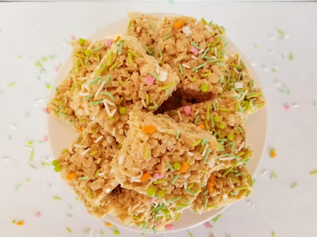 Easter Rice Crispy Treats