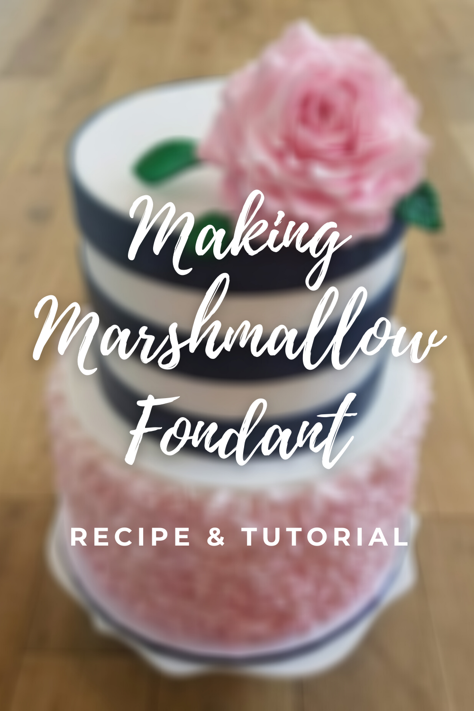 Making Marshmallow Fondant: Recipe & Tutorial